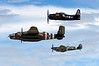 3544 Hetitage Fight B25 Spitfire Bearcat